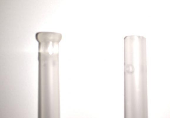 Absaugkatheter sind entweder atraumatisch (links) oder nicht (rechts).
